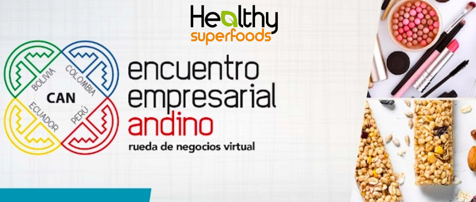 Healthy Superfoods at CAN virtual business 2020